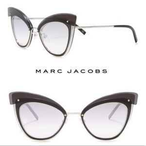 Marc Jacobs Oversize Cat Eye butterfly Sunglasses